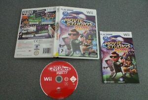 MOVIE STUDIOS PARTY Wii PAL COMPLETE TESTED WORKING