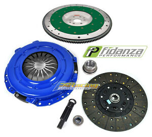 FX STAGE 2 CLUTCH KIT& FIDANZA ALUMINUM FLYWHEEL 96-04 FORD MUSTANG GT 6-BOLT