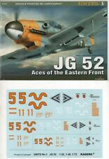 JG 52 Aces of the Eastern Front (decals)  - Kagero Units  - English!!!