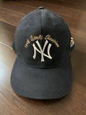 Vintage 1998 Yankees World Champion Addidas Hat Cap