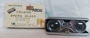 Vintage Kmart Precision Made Folding Opera Glass 2.5x25 MM w/box Japan