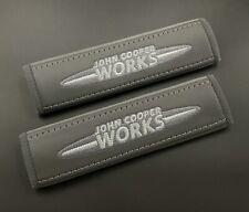 Mini Cooper John Cooper Works Grey Seat belt covers pads 2PCS