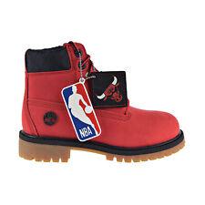 Timberland Chicago Bulls 6-Inch Premium Little Kids' Boot Red Nubuck Tb0A2952