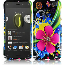 For Amazon Fire Phone HARD Protector Case Snap On Phone Cover + Screen Protector