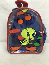 Looney Tunes Tweety Bird Toddler Mini Backpack No Tag Excellent Condition