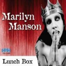 MARILYN MANSON - LUNCH BOX 2CD&DVD Set (NEW & SEALED) Goth Rock Metal Live