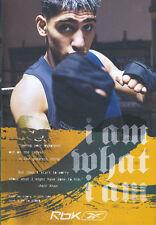 "Reebok ""I Am What I Am"" Ryan Giggs, Amir Khan 2006 4 Sided Magazine Advert #2788"