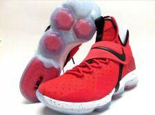 Mens Size 10.5 Nike Lebron 14 XIV 852405-600 University Red Black Shoes