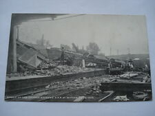 WRECK OF THE CROMER EXPRESS G.E.R. AT WITHAM SEP 1ST 1905 POSTCARD