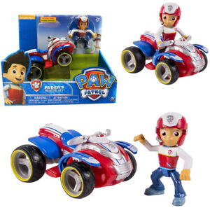 PAW PATROL RYDER'S RESCUE ATV PUP ACTION FIGURE VEHICLE KID DISPLAY MODEL TOY