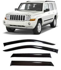 In Channel Window Visor Sun Guard Sunroof Combo 5pc For Jeep Commander 2006-2010