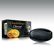 2x100g Chandanalepa Active Charcoal Soap Deep Cleansing Herbal Soap Ceylon 100%