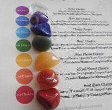 Chakra Healing Crystals 7 Reiki Stones