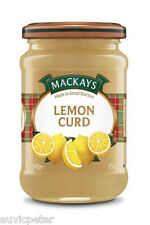MACKAYS Lemon Curd 340g, Gluten Free, Wheat Free, No Added Colours or Flavours