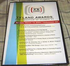 2003 TVLAND AWARDS DVD, MARY TYLER MOORE + DICK VAN DYKE SHOW CAST REUNION.