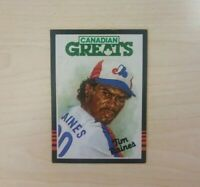 1985 Leaf/Donruss Montreal Expos Baseball Card #252 Tim Raines CG