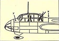 Junkers Ju 88 S/A-6 Canopy Set for Italeri (1/72 Squadron 9178)