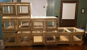 Stacking Quail Cage