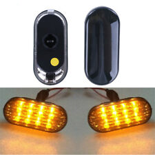 1 Pair of Amber LED Side Marker Lights For VW Golf Jetta Bora MK4 Passat B5 B5.5