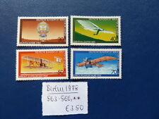Berlin 1978, Jugend: Luftfahrt, Michel 563 - 566, **