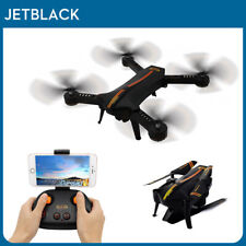 JetblackB2 Foldable HD Camera RC Drone Quadcopter Headless Aircraft Voice Remote