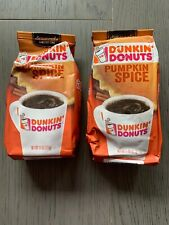 """New listing (Pack of 2) Dunkin' Donuts-Pumpkin Spice Flavor Ground Coffee """"Limited Time""""11oz"""