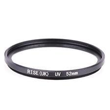 52mm UV Ultra-Violet Filter Lens protector Haze For Pentax Nikon Canon Sony