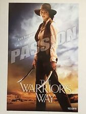 "THE WARRIOR'S WAY ""C"" 11x17 PROMO MOVIE POSTER"