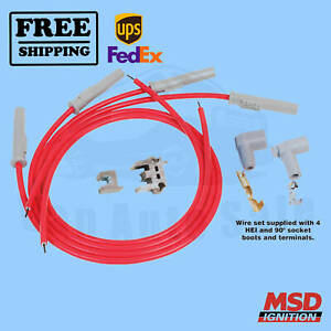 Spark Plug Wire Set MSD for Buick Opel 1977-1979