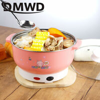 Electric Cooker Mini Heating Pan Stainless Steel Hotpot Noodles Rice Steamer Pot