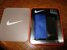 NEW! Nike Ballistic Nylon Front-Pocket Wallet CREDIT CARD FOLD W/ MONEY CLIP