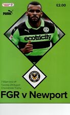 Forest Green Rovers v Newport County (Checkatrade Trophy) 2017-2018