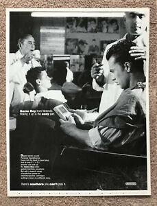 NINTENDO GAME BOY - 1991 full page UK magazine ad