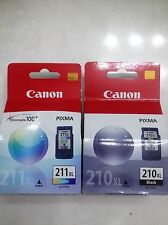 Canon PG-210XL / CL-211XL Ink Individual Box Black and Color