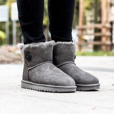 UGG AUSTRALIA W MINI BAILEY BUTTON II Boots Stiefel Gefüttert Damen  Winterschuhe 012d6e80a2