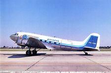Postcard 134 - Plane/Aviation DPR 25. Douglas DC3 Paradak VH-CAN