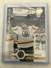 2019-20 Upper Deck Series 2 DAY WITH THE CUP FLASHBACK PATRICE BERGERON