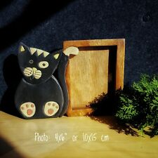 Kids Childrens Room Wooden Photo Frame 6x4 Picture CAT