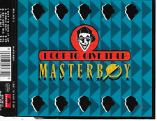 MASTERBOY - I got to give it up CDM 3TR Eurodance 1994 (Polydor) Europe