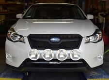 Fits 2013-2014 Subaru XV Crosstrek RALLY LIGHT BAR, Bull Bar, 4 Light Tabs!