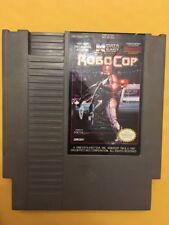 Nintendo NES RoboCop Game Tested Working! Pins Cleaned
