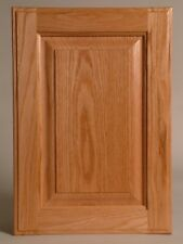 Cabinet Doors Throughout Raised Panel Oak Cabinet Doors Stain Grade Inc Hinges Drilling 3115sqft For Sale Ebay