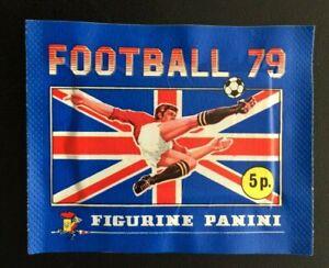 Panini Football 79 1979 Unopened Sealed Sticker Packet Pack