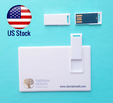 Lot of 1, 2, 3, 5 Flash 8GB Credit Card Size USB 2.0 Pen Drive Memory Stick