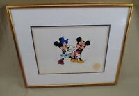 WALT DISNEY SERIGRAPH CEL MINNIE LOVES MICKEY SURPRISE PARTY LIMITED EDITION