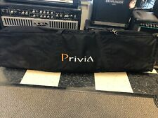 Used Privia Soft Case For Keyboard Piano Organ Synth Gig Bag