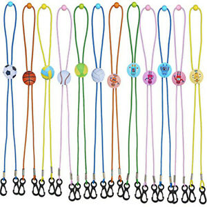 Strap Cartoon Anti-lost Cord Face Mask Chain Kids Mask Lanyard Holder Neck Rope