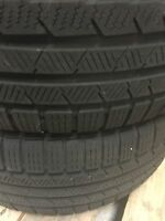 2x Winterreifen Continental ContiWinterContact TS830 205/55 R16 91H DOT2710 5mm