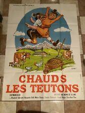 Affiche cinéma-120x160»CHAUDS LES TEUTONS»1973-VOLKMANN-A.GRILL- Erotisme-GÖTZ