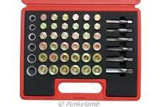 114pc Oil Pan Thread Repair Kit For Repairing Sump, Gearbox Drain Plug Tool Set